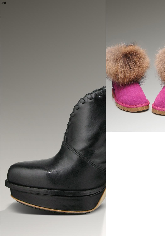 ugg boots pailletten schwarz